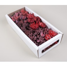 MIXED BOX RED 130 STEMS