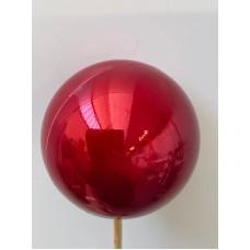 DECORATIVE BALLS - RED PEARL