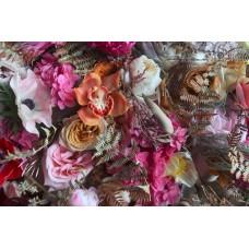 ELFI - Floral linen napkins