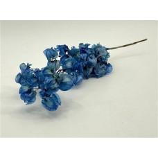 PRESERVED BOUGAINVILLEA 45CM - DARK BLUE