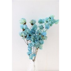 PRESERVED BOUGAINVILLEA 45CM - LIGHT BLUE