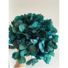 PRESERVED HYDRANGEA - MATALLIC BLUE