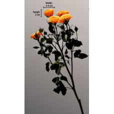 Preserved Spray Rose on Stem
